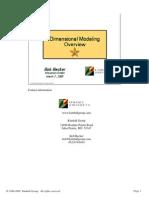 Kimball DimensionalModeling