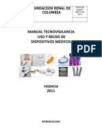 Manual de Uso y Reuso de (Reparado)