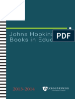 Books in education, 2013-2014