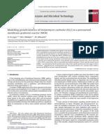 Cinetica de Crecimiento de Streptomyces