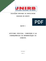 Anteprojeto MESA REDONDA (Constitucional IV)
