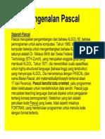 Materi 1dan 2 Mengenal Pascal