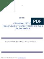 MA MANUAL CRIMI Preservacion Lugar Hechos