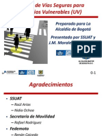 Introducción al Curso de diseño de vías seguras para usuarios vulnerables