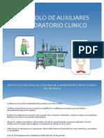 Protocolo de Auxiliares de Laboratorio Clinico