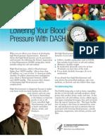 DASH Diet - Foods that lower blood pressure,