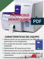 Expo Protocolo Hematologia