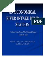 River Intake System