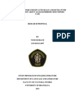 proposal of sociolinguistics research