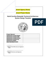 technical architecture system design template.doc