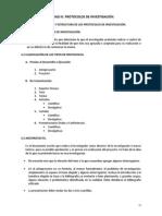 UNIDAD III. PROTOCOLOS DE INVESTIGACIÓN