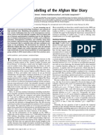 Point process modelling of the Afghan War Diarymodel paper(award winning)