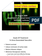 Anca Associated Vasculitis Clinical Trials
