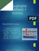 Transporte Maritimo y Fluvial