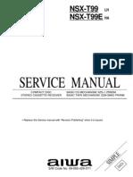Aiwa NSX-T99 PDF