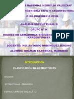 RIGIDEZ EN ARMADURAS BIDIMENSIONALES SEG+ÜN KARDESTUNCER