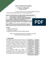 Modulo Contabilidad Financiera Talleres en Clase