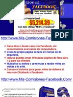 Mis Comisiones de Facebook - Como Ganar Dinero Con Facebook
