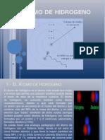 Atomo de Hidrogeno-fisica