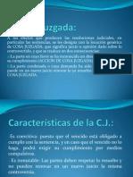 DP2!14!11-13 RCTP La Cosa Juzgada