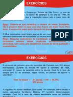EXERCÍCIOS+DE+EST.+APLIC.+À+EPID.