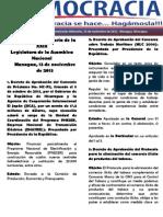 Barómetro Legislativo Diario del miércoles, 13 de noviembre de 2013.pdf
