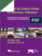 Estudio de Espacio Urbano en Chihuahua