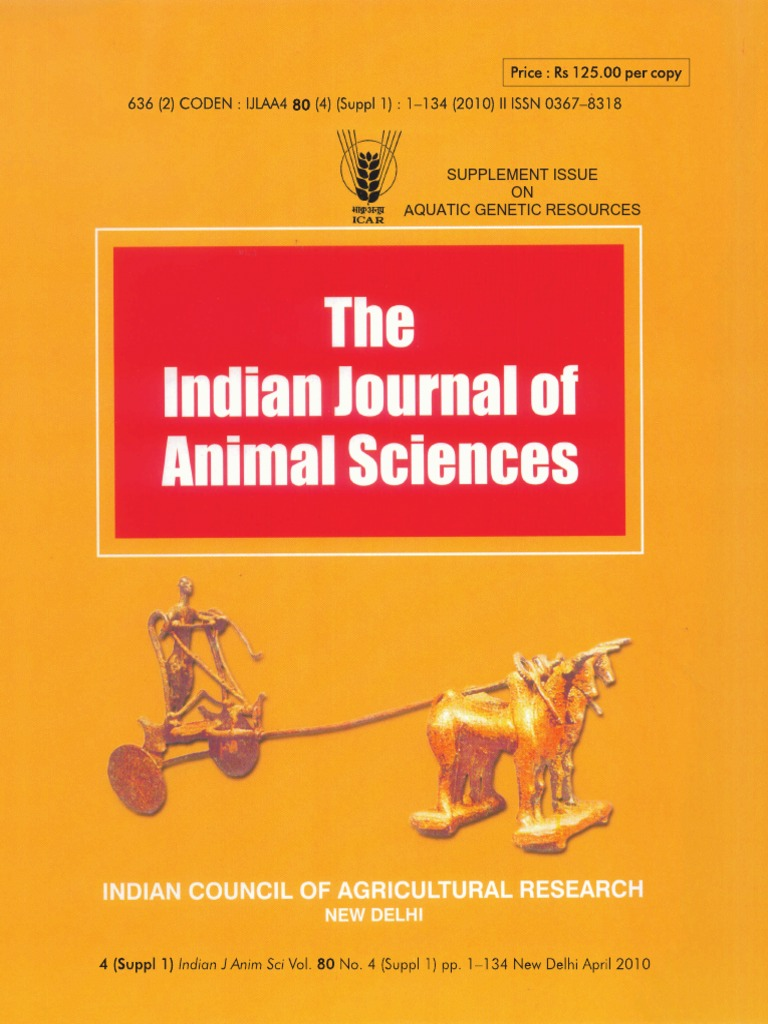 Indian Animal Science Journal | Conservation Biology | Taxonomy ...