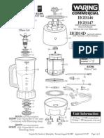 Parts Diagram HGB146
