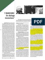 Cinatti, Claudia. Marxismo y psicoanálisis