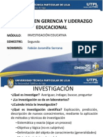 Investiga c in Educativa