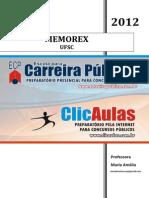 5329 MEMOREX Portugues - UFSC - Professora Maria Amalia