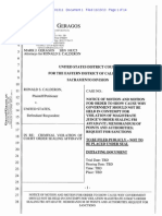 Ron Calderon Asks for Contempt in FBI Affidavit Leak