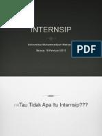 ttg Internsip