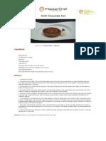 Chilli Chocolate Tart