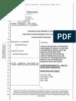 Calderon Alleges FBI Wire