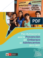 Plan Multisectorial PEA 2012-2021