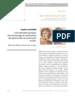 Sophie LALANNE-reseña- Una educación griega-ritos de pasaje y construcciónde generos en la novela romana antigua