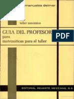 Guía del Profesor para matemáticas para el taller.pdf