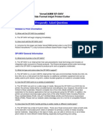 FAQ Roland SP Series