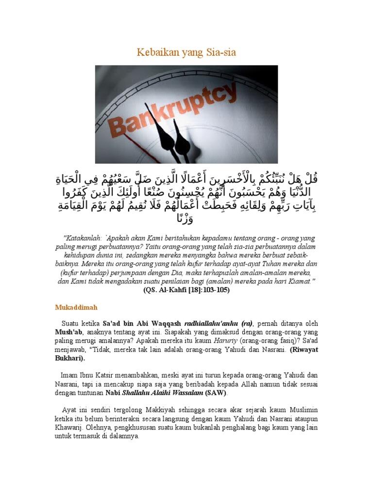 Tafsir Surat Al Kahfi Ayat 103 105doc