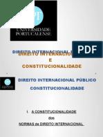 Direito Internacional Publico - Constitucionalidade