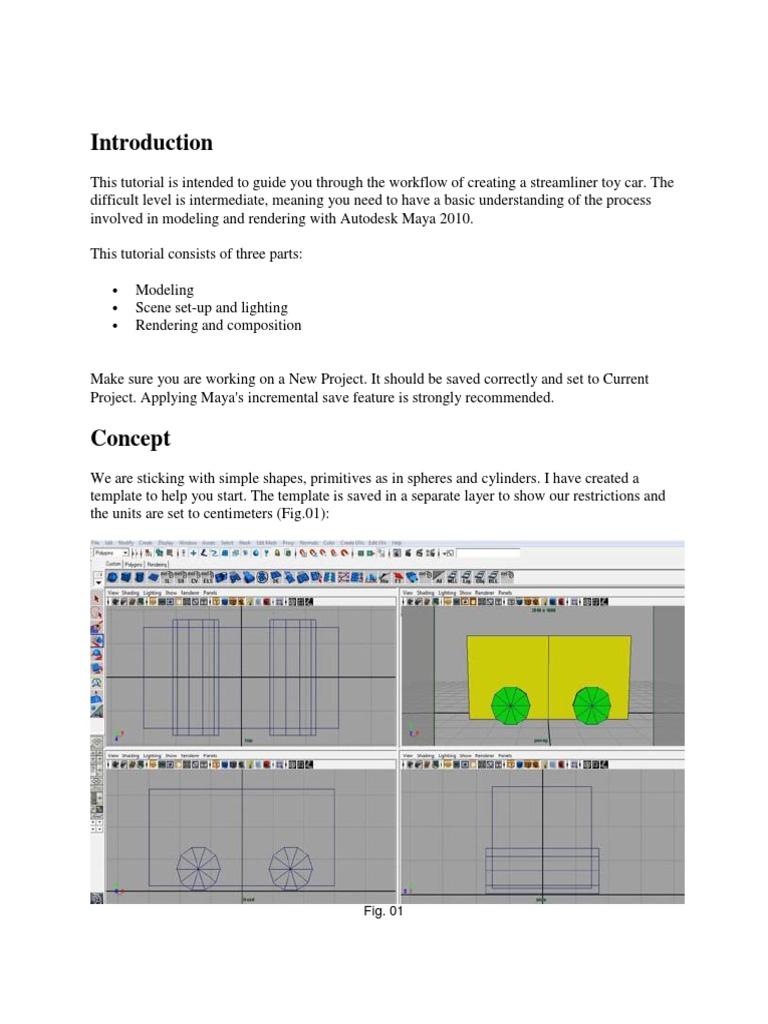 Maya interface overview [tutorial].
