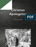Christian Apologetics Session 1