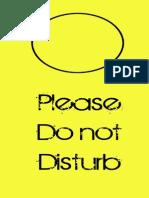 Do not disturb sign.pdf