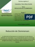 Reducción de Clemmensen. quimica organica 2.pptx