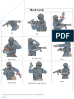 Tactical Hand Signals