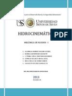 Trabajo Hidrocinematica 1