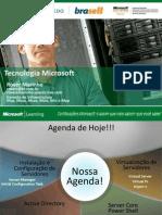 Palestra - Semana Tecnológica_Windows Server 2008