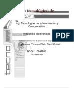 negocios electronicos (Procesos estratégicos de la empresa)